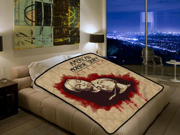 American Horror Story Tv Series 2569 Polar Fleece Blanket Throw