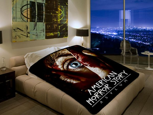 American Horror Story Tv Series 2570 Polar Fleece Blanket Throw