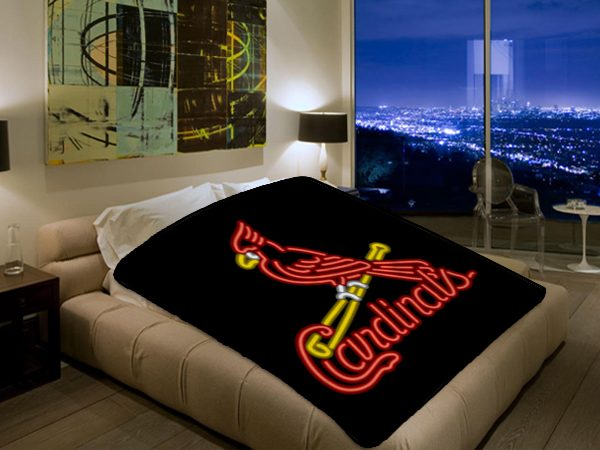 St Louis Cardinals MLB Baseball Team 40 Polar Fleece Blanket Interesting St Louis Cardinals Throw Blanket