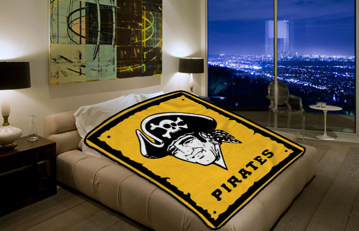 Pittsburgh Pirates Mlb Baseball Team 183 Polar Fleece