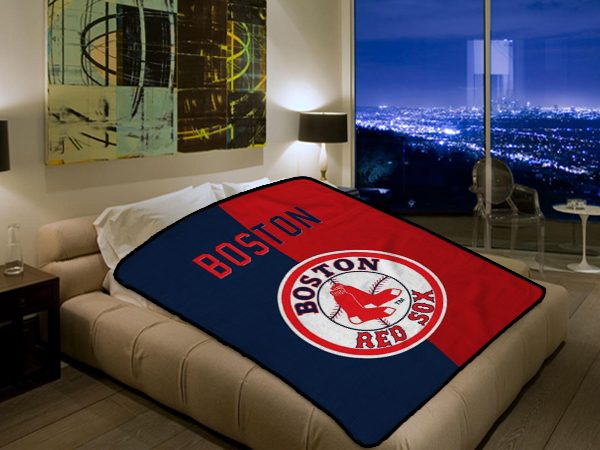 Mlb Red Sox Blanket 2