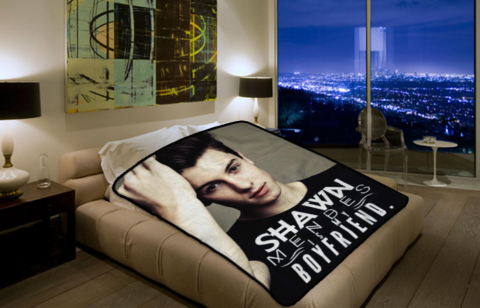 Shawn Mendes Is My Boyfriend Singer 2214 Polar Fleece
