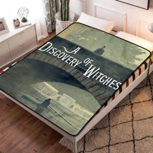 A Discovery of Witches Fleece Blanket Throw Bed Set
