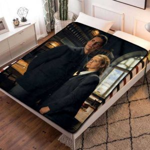 A Discovery of Witches TV Series Fleece Blanket Throw Quilt
