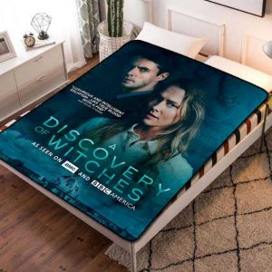 A Discovery of Witches TV Series Fleece Blanket Throw Bed Set