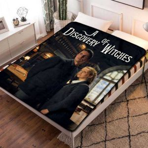 A Discovery of Witches Fleece Blanket Throw Quilt