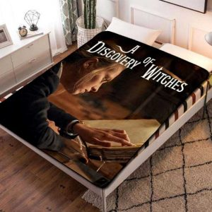 A Discovery of Witches TV Shows Fleece Blanket Throw Quilt