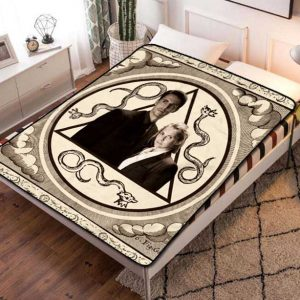 A Discovery of Witches TV Shows Fleece Blanket Quilt
