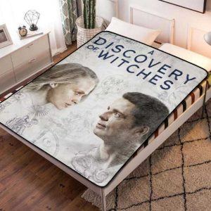 A Discovery of Witches TV Series Quilt Blanket Fleece Bed Set