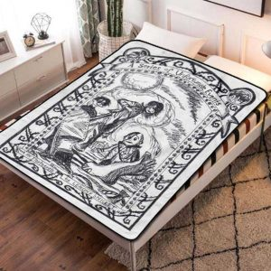 A Series of Unfortunate Events Series Fleece Blanket Throw Quilt
