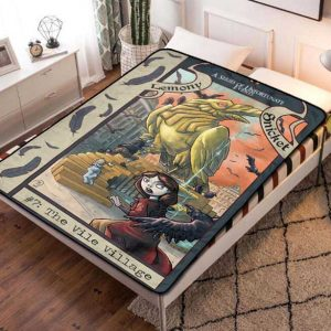 A Series of Unfortunate Events Fleece Blanket Quilt
