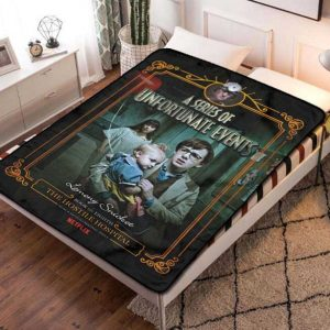 A Series of Unfortunate Events Blanket