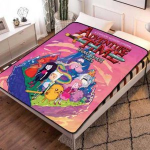 Adventure Time Kids Fleece Blanket Throw Quilt