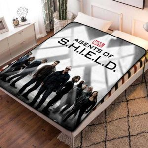 Agents of S.H.I.E.L.D. TV Fleece Blanket Quilt