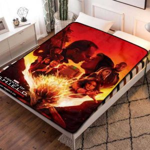 Agents of S.H.I.E.L.D. TV Series Fleece Blanket Quilt