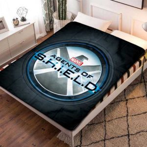 Marvel Agents of S.H.I.E.L.D. SHIELD TV Series Quilt Blanket Fleece Throw
