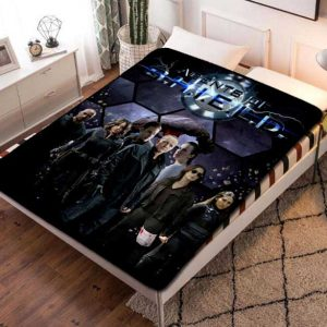 Chillder Agents of SHIELD Blanket. Agents of SHIELD Fleece Blanket Throw Bed Set Quilt Bedroom Decoration.