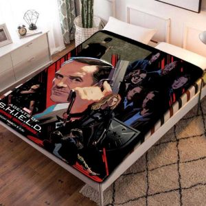 Agents of S.H.I.E.L.D. TV Shows Fleece Blanket Quilt