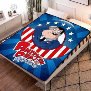 American Dad! Weekends Fleece Blanket Quilt