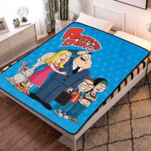 American Dad! Fleece Blanket Quilt