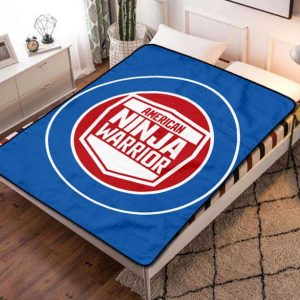 American Ninja Warrior Fleece Blanket Throw Bed Set