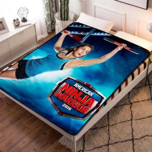 American Ninja Warrior TV Series Fleece Blanket Quilt