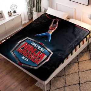 American Ninja Warrior TV Series Fleece Blanket Throw Quilt
