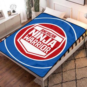 American Ninja Warrior Fleece Blanket Throw Quilt