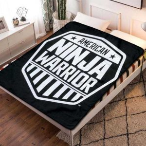 American Ninja Warrior TV Shows Fleece Blanket Throw Bed Set