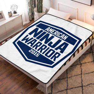 Chillder American Ninja Warrior Blanket. American Ninja Warrior Fleece Blanket Throw Bed Set Quilt Bedroom Decoration.