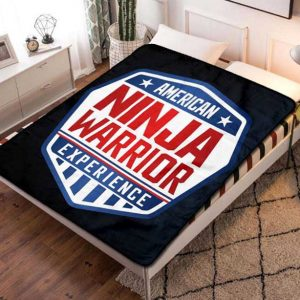 American Ninja Warrior Series Fleece Blanket Quilt
