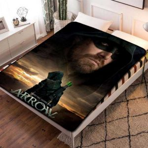 Arrow Fleece Blanket Throw Bed Set