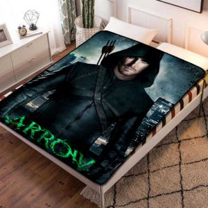 Arrow TV Series Fleece Blanket Quilt
