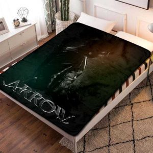 Arrow TV Series Fleece Blanket Throw Bed Set