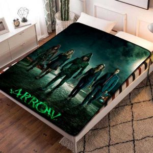 Arrow Fleece Blanket Throw Quilt