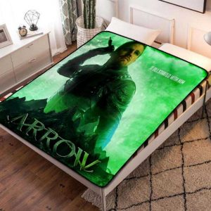 Arrow Poster TV Series Fleece Blanket Quilt