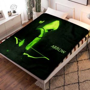 Arrow TV Shows Fleece Blanket Throw Quilt