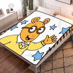 Arthur Cartoon Fleece Blanket Quilt