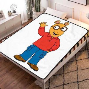 Arthur Cartoon Fleece Blanket Throw Quilt