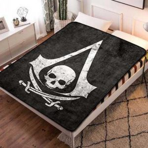 Chillder Assassin's Creed Blanket. Assassin's Creed Fleece Blanket Throw Bed Set Quilt Bedroom Decoration.