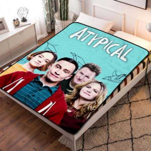 Atypical TV Shows Fleece Blanket Throw Quilt