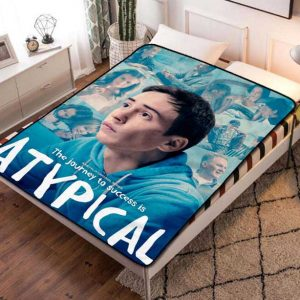 Chillder Atypical Blanket. Atypical Fleece Blanket Throw Bed Set Quilt Bedroom Decoration.