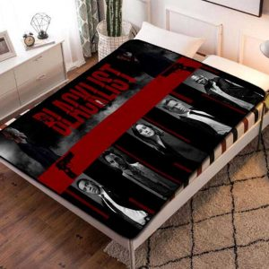 The Blacklist Fleece Blanket Throw Bed Set