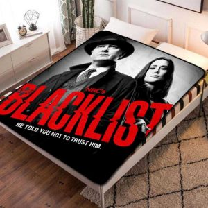 Chillder The Blacklist Blanket. The Blacklist Fleece Blanket Throw Bed Set Quilt Bedroom Decoration.