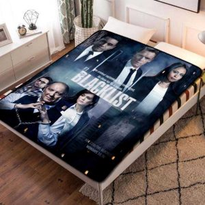 The Blacklist TV Series Fleece Blanket Throw Quilt