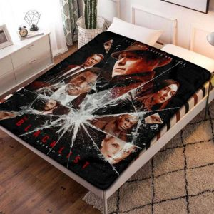The Blacklist TV Series Fleece Blanket Quilt