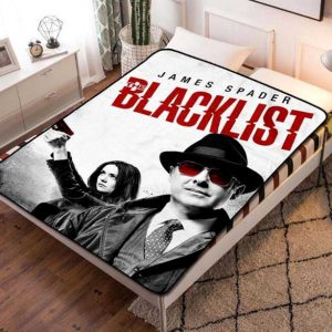 The Blacklist TV Shows Fleece Blanket Throw Bed Set