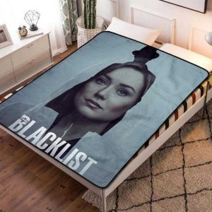The Blacklist TV Series Fleece Blanket Throw Bed Set