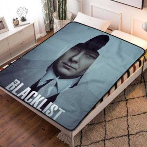 The Blacklist Fleece Blanket Throw Quilt
