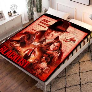 The Blacklist Poster TV Series Fleece Blanket Throw Bed Set